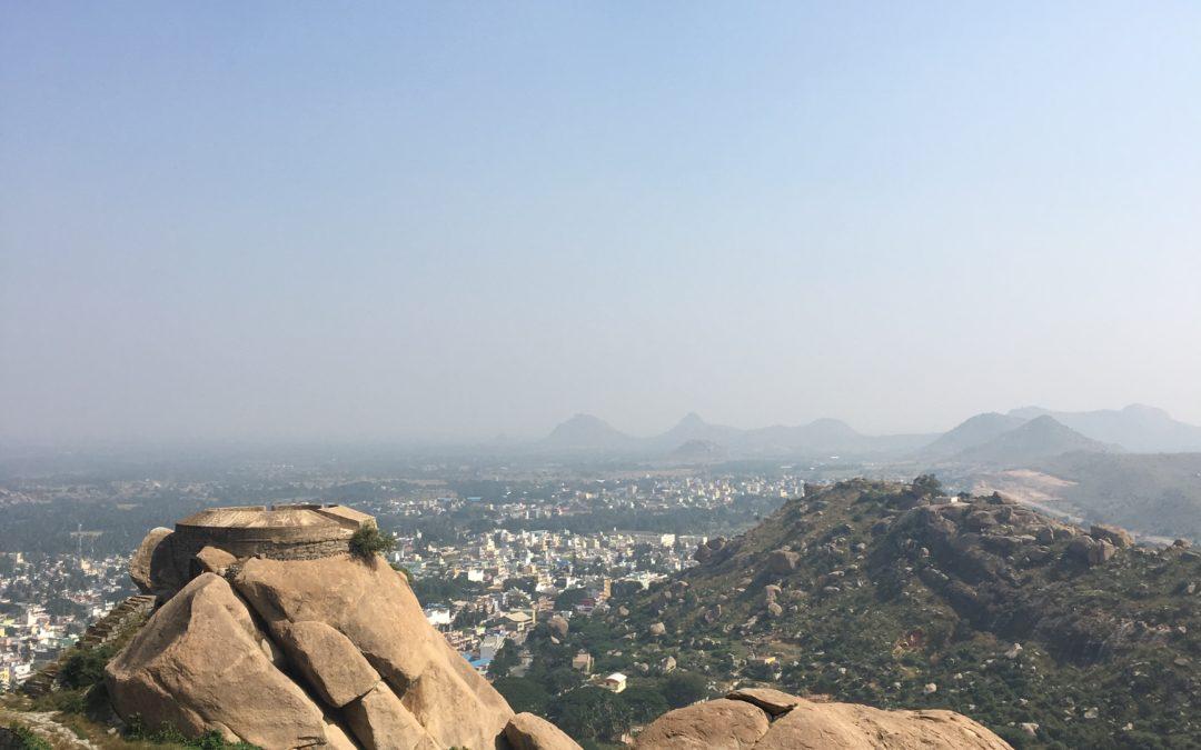 Madhugiri Trek- Rock of all ages