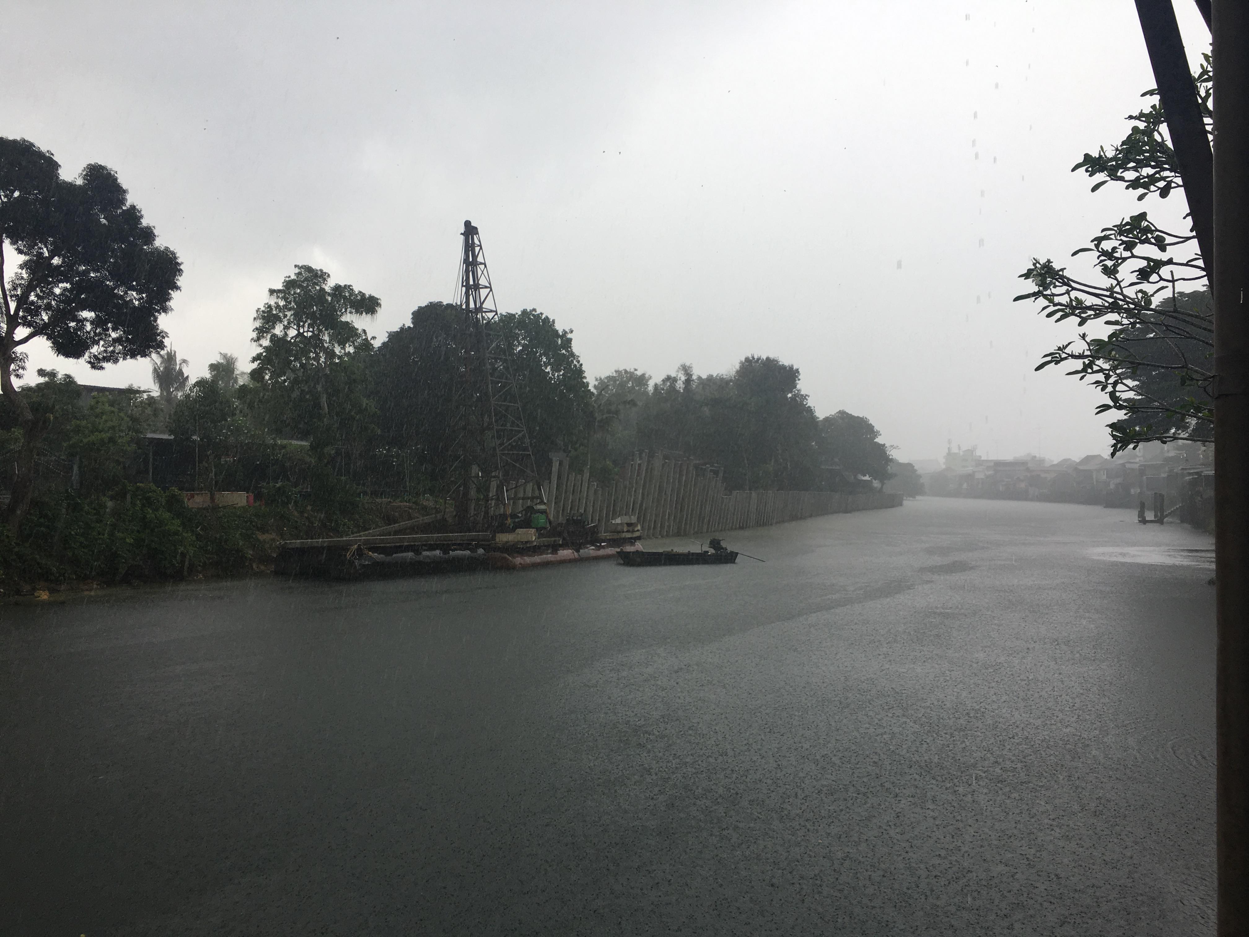 River Front Chanthaburi Thailand