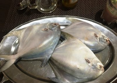 Pomfret in Goa