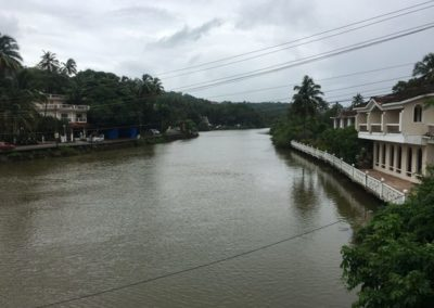 River in Goa