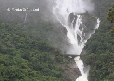 Dhudhsagar Falls Goa