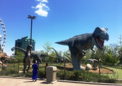 Dinosaur Park at Niagara