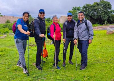 Trekking Pole during Monsoon Trek